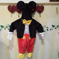 Disney Baby Mickey Mouse Infant Baby Unisex Halloween Costume Jumpsuit 3-6 Mos