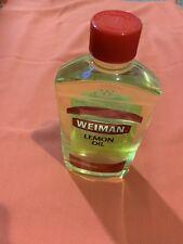 Weiman Lemon Oil Furniture Polish with UVX-15 Sunscreen -16 Oz