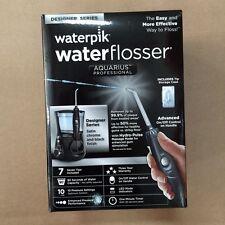 New Waterpik Aquarius Professional Water Flosser Designer Series, Black, WP-672
