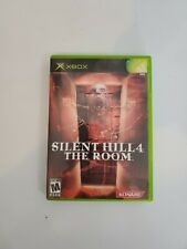 Silent Hill 4 The Room Microsoft Xbox Konami with Case and Manual Complete