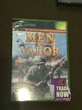 Original Microsoft XBox Video Men of Valor Rated M NICE!