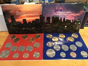 2010 US MINT P & D  28 coin UNCIRCULATED SET