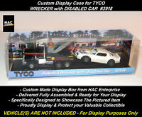 Custom Display Case:  TYCO #3918  WRECKER with Disabled Vehicle  * NEW DESIGN *