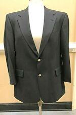 Hart Schaffner & Marx Men's Navy Blue Wool Sport Coat Blazer - Size 42S