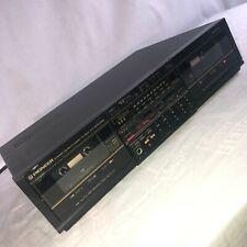 Pioneer Ct-1370Wr Double Cassette Tape Deck Recorder Vintage Pro Audio Japan