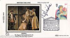 1982 Théâtre-Benham petite soie-Signé par le regretté Philip Langridge CBE