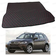 Anti Scrape Leather Car Trunk Mat Carpet Fit for BMW X5 2007 08 09 10 11 12 2013