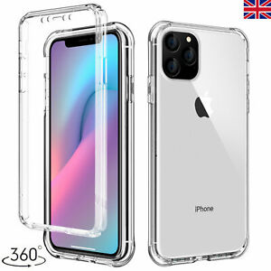 360° Full Heavy Duty Shockproof Clear Hard Back Case Cover For iPhone 12 Pro Max