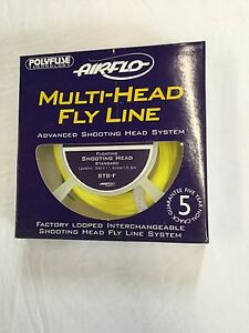 AIRFLO MULTI HEAD FLOATING SHOOTING HEAD ST8F PRE-LOOPED STANDARD FLY LINE