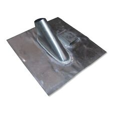 Bleidachziegel einteilig 400 x 365mm für Masten bis 50mm - mit Kabeldurchführung