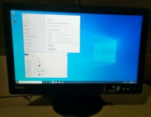Lenovo Tiny Desktop with Monitor All in One i5 6500T 4G 128G SSD Win 10 Pro #P1