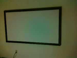 """113"""" 2.35:1 PRO GRADE PROJECTOR SCREEN (BARE) PROJECTION MATERIAL MADE IN USA"""
