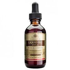 Solgar Liquid B12 2000ug with B-Complex 59 ml