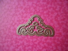 "SPELLBINDERS  CORNER/ACCENT  DIE - ABOUT 1 3/4"" (4.5 cm) ACROSS. NEW."