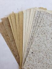 20x Natural Set#5 Handmade Mulberry Saa paper sheets - Scrapbook, Craft, Card