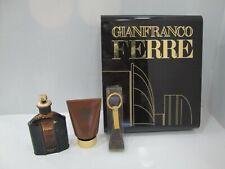 """ GIANFRANCO FERRE' FOR MAN "" Profumo uomo EDT 75ml Spray+Shower Gel+Portachiavi"