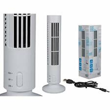 Desk Tower Fan 33 cm - Cooling Air Conditioner - Great For Office