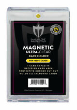 (3) Max Pro Ultra One Premium Magnetic UV 100pt Black Label Touch Card Holders