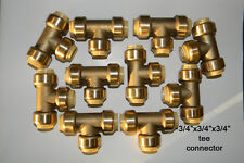 10 Push fit  3/4 x 3/4 x 3/4  inch  Tee sharkbite style