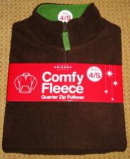 ARIZONA JEAN COMPANY Boys Chocolate Comfy Fleece Size 4S