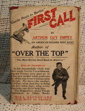 guide posts to Berlin FIRST CALL AMERICAN SOLDIER WORLD WAR ONE WWI old book