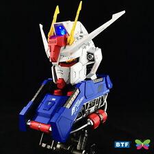 BTF model 1/24 GAT-X 105 Strike Gundam Large Head Bust Portrait with LED light