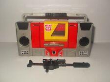 transformers g1 original vintage boombox blaster complete