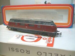 Märklin H0 3021 Diesellok BR V 220 043-4 der DB rot/grau  analog  wie neu in OVP
