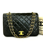Vintage CHANEL Quilted 23 Full Flap CC Logo Lambskin Chain Shoulder Bag /E1297