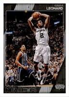 2016-17 NBA Hoops Basketball #121 Kawhi Leonard San Antonio Spurs