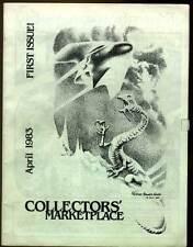1st. COLLECTORS' MARKETPLACE 1983 Articles Trivia Contest DEALER & PUBLISHER ADS