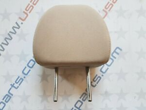 2014 - 2020 Nissan Rogue Rear Left / Right Headrest Cloth Almond Beige OEM