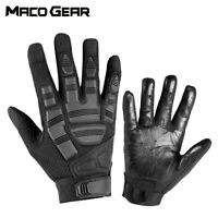 Mens Tactical Shooting Full Finger Gloves Working Driving Motorcycle Cycling ATV