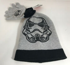 Disney Star Wars Darth Vador Stocking Youth Cap And Gloves NEW