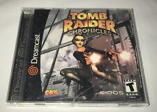 Tomb Raider: Chronicles (Sega Dreamcast, 2000) Complete Cib