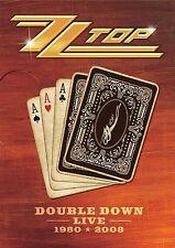 ZZ TOP - DOUBLE DOWN LIVE  2 DVD NEU