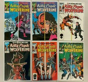 Kitty Pryde and Wolverine set #1-6 all 6 different books 6.0 FN (1984 to 1985)