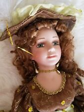 """Angelina Collection, By Hollylane, Porcelain Doll, 2004, 17"""" Long"""