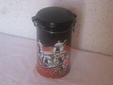 Boite en métal hermétique  pour le café