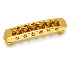 NEW Schaller Roller Tunematic BRIDGE for Gibson Les Paul SG Tune-O-Matic Gold