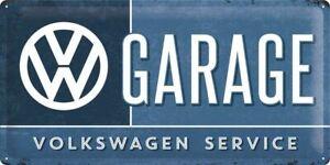 """Volkswagen Lifestyle Blechschild """"VW Garage"""
