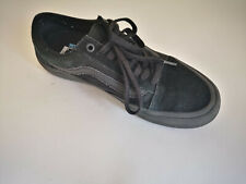 Womans Black Vans Old Skool Skate Shoes UK 6