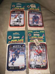 1993 hockey action player patches NHL