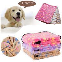 Dog Cat Puppy Pet Plush Blanket Mat Warm Sleeping Soft Bed Blankets Supplies