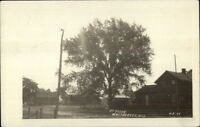 White Creek Whitecreek WI Street Scene c1910 Real Photo Postcard