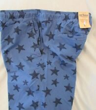 "Men's ""Urban Pipeline""  M, Blue Stars, Elastic w/Drawstring Waist, Shorts"