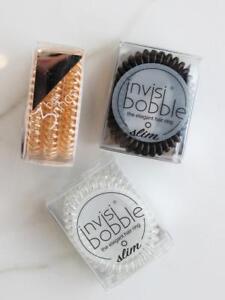 Invisibobble SLIM Tangle Free Hair Ring Bobble In 6 Colours