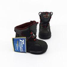 Boots TrekTex Stiefel Schnürer Winter Kunstleder Textil schwarz grau Gr. 22