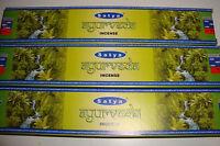 """Nag Champa """"Ayurveda""""~  Incense 3x15g boxes of  Incense~uk seller"""