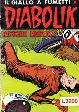 DIABOLIK R N° 259 - 3 APRILE 1989 - CONDIZIONI OTTIME